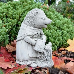 STATUE - STATUETTE   Statue de Jardin Mme Tiggy-Winkle