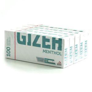 TUBE À CIGARETTE Lot de 5 Boîtes de 100 Tubes à Cigarettes Menthol