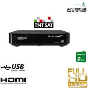 RÉCEPTEUR - DÉCODEUR   HUMAX TN8000HD  Récepteur satellite TNTSAT HD