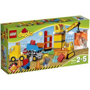 ASSEMBLAGE CONSTRUCTION LEGO® DUPLO® 10813 Le grand Chantier - Jeu de cons