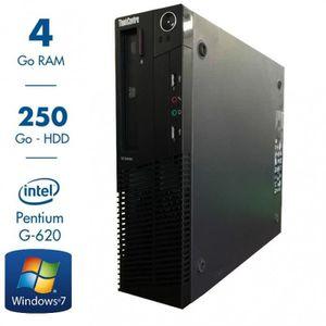 UNITÉ CENTRALE  LENOVO THINKCENTRE M81 - Intel Pentium G620 2.6Ghz