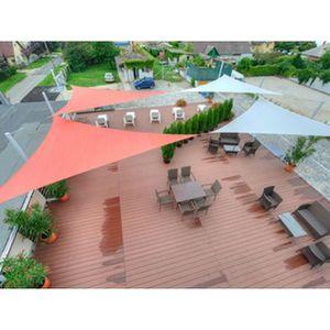 CLÔTURE - GRILLAGE Brise-vue 90% - Vert-noir - 185g-m² Vert-Noir 2m x