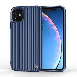 COQUE - BUMPER Coque iPhone 11,Blue Ultra Slim Antichoc Anti Rayu