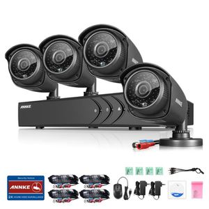 camera surveillance annke achat vente camera surveillance annke pas cher cdiscount. Black Bedroom Furniture Sets. Home Design Ideas
