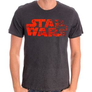 T-SHIRT T-shirt Adulte Star Wars : Destroy - Gris Anthraci