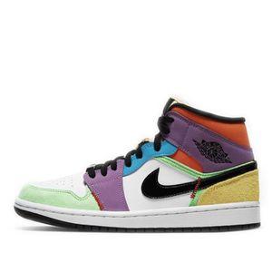 chaussure air jordan 1 mid femme