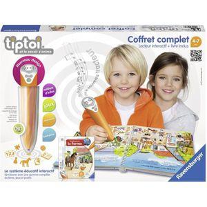 LIVRE INTERACTIF ENFANT TIPTOI Coffret lecteur & Livre Interactif Ferme