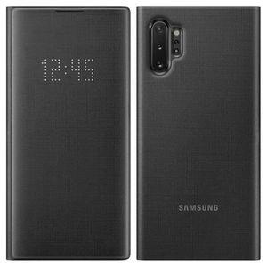 HOUSSE - ÉTUI Housse Galaxy Note 10 Plus Étui Porte-carte LED Vi