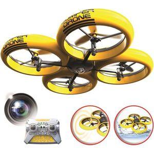 RADIOCOMMANDE POUR DRONE FLYBOTIC Bumper Drone avec caméra HD - Drone Radio