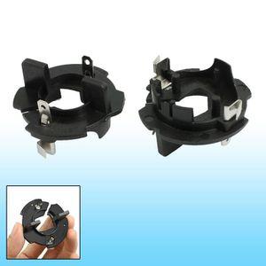 PHARES - OPTIQUES 2 Pièces Xénon H7 Hid Kit Ampoule Support Fixation