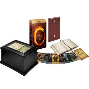 BLU-RAY FILM Le Hobbit - Trilogie Coffret Blu Ray 3D + DVD Edit