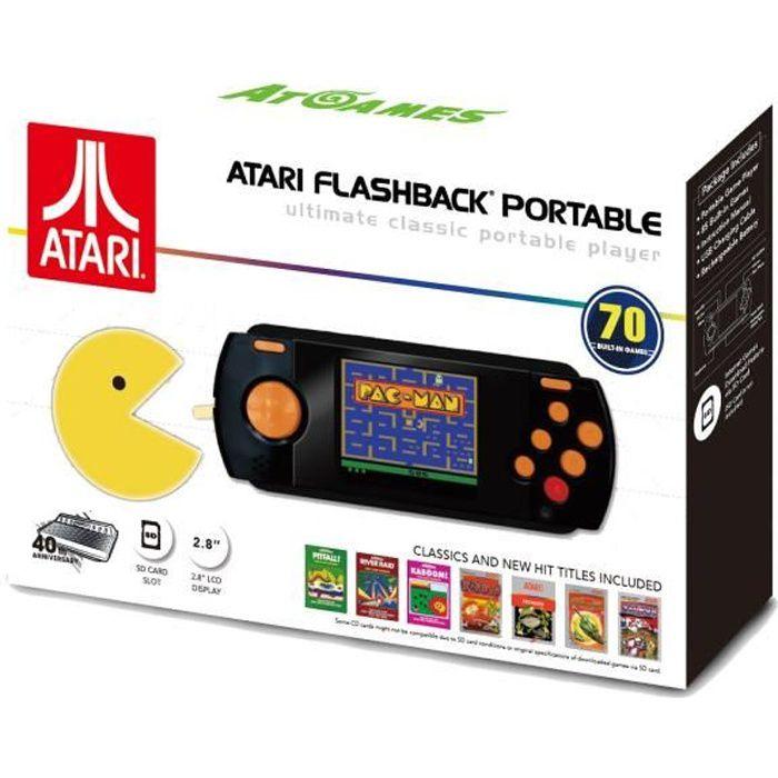 CONSOLE RÉTRO Console Portable ATARI Flashback Pac Man Edition