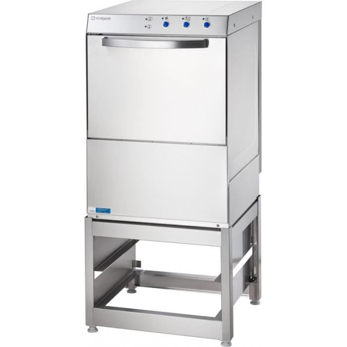 Lave-Vaisselle Professionnel Inox avec Base Panier 50 x 50 cm - Stalgast - 220V monophase