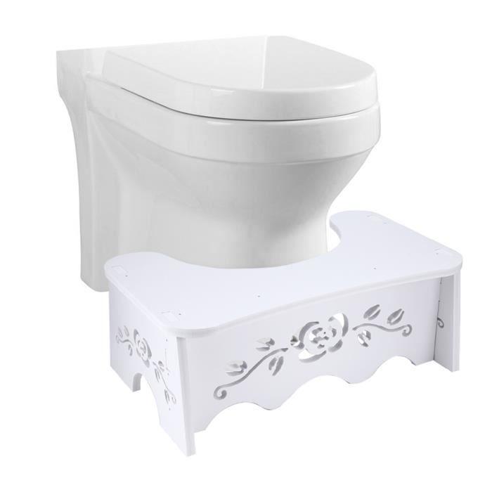 Tabouret Toilette Enfant Adult Santé Repose-pieds Salle de Bain Antidérapant HB012 -KEL