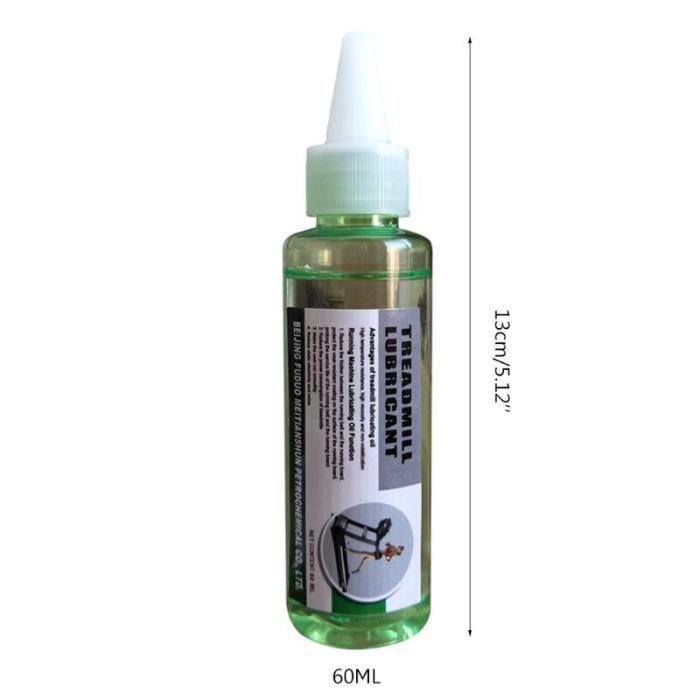 Huile lubrifiante spéciale pour tapis de course, 60ml, huile de Silicone d'entretien pour Machine [959AE98]