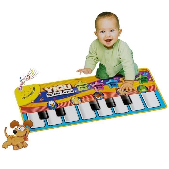SHAN Jouet Musical tactile clavier chant tapis Chaud mode tapis Funny Animal clavier Piano jouet Musical