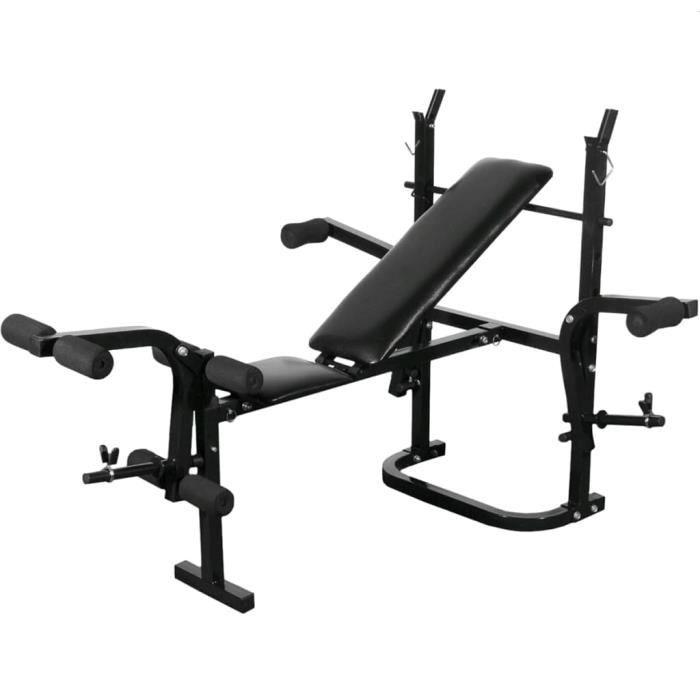 Magnifique-Banc de musculation appareil à abdo Banc d'entraînement abdominaux - complet