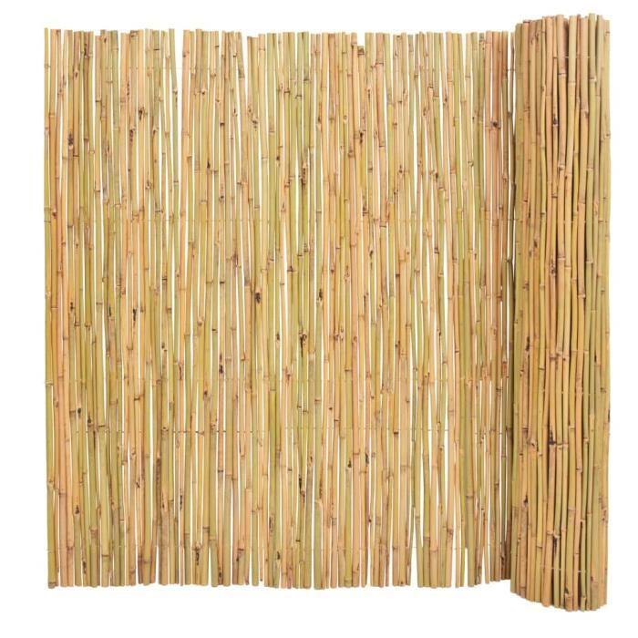 ♫8236 Clôture de jardin Brise vue Classique Bambou 300 x 150 cm MMCZ®