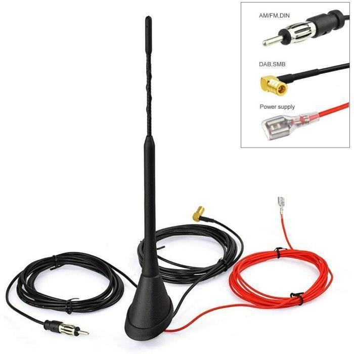 Véritable remplacement Toit Voiture Antenne Antenne AM//FM Masque Mitsubishi Colt L200 41 cm