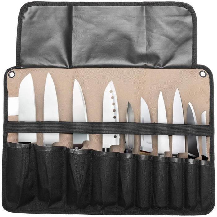 Trousse De Chef Vide Etui À Couteaux Portable Porte De Couteau Sacoche De Couteaux Cuisinier (Sans Couteaux)463