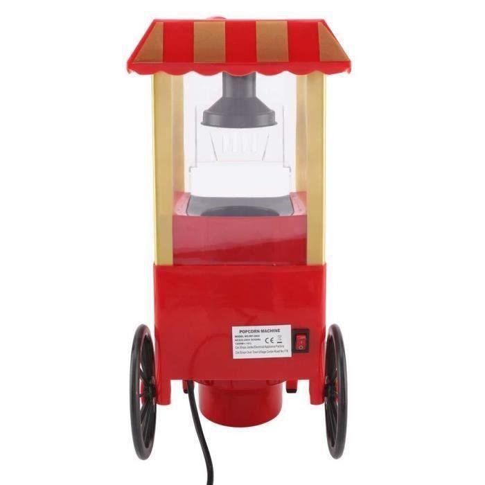 Fabricant électrique de pop-corn compact d'air chaud faisant la machine de ma?s220-240V
