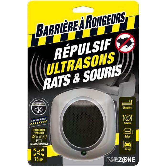 BARRIÈRE À RONGEUR Répulsif ultrasons Rats et Souris