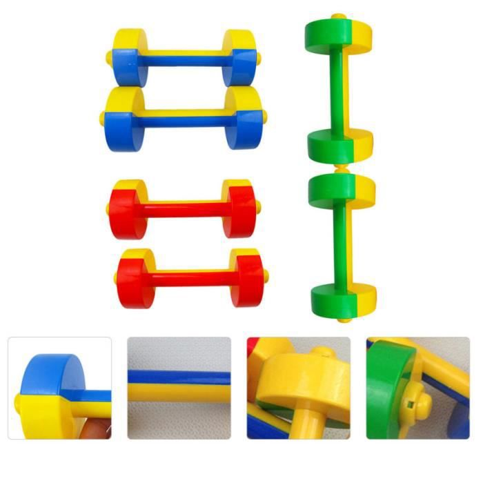 3 paires portables Pratique UTILE PRATIQUE HALTÈRES POUR LA MAISON MAGASIN barre - haltere - poids fitness - musculation