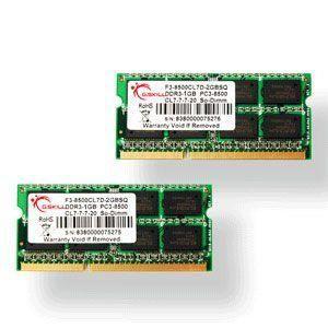 G.Skill SODIMM 8 Go DDR3-SDRAM - FA-8500CL7D-8GBSQ