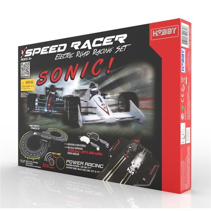 Sonic Speed racer circuit