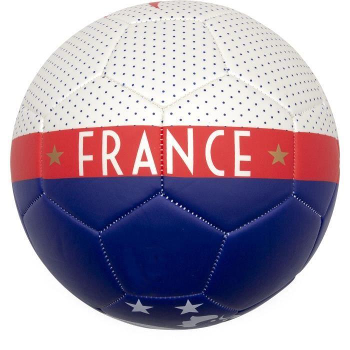 Ballon football FFF Jersey dots T5