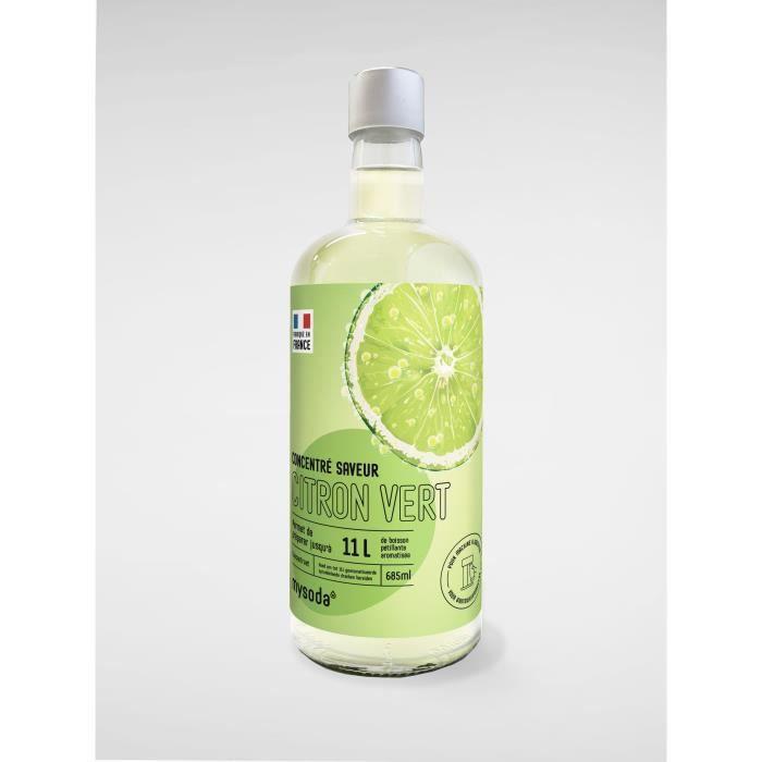 MYSODA - Concentré saveur Citron Vert 685ml