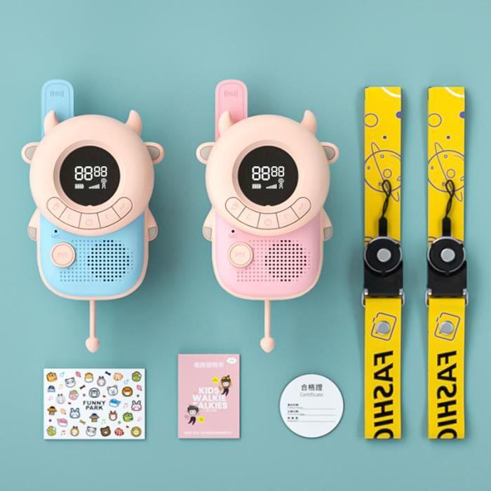 Talkie-walkie pour enfants , talkie-walkie portable pour enfants