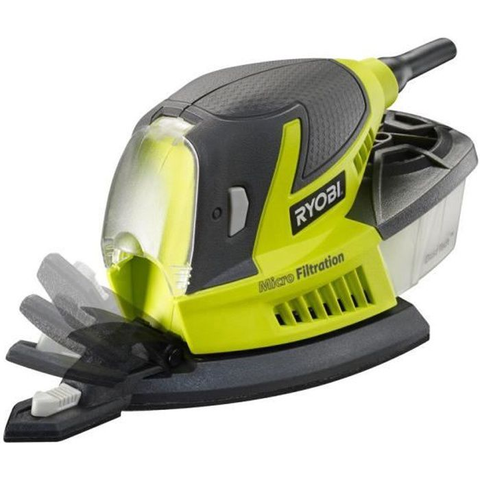 RYOBI Ponceuse triangulaire - 80W - 115 x 229 mmPONCEUSE - POLISSEUSE