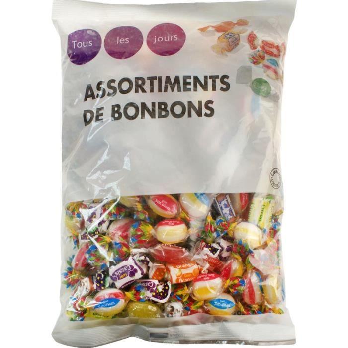 TOUS LES JOURS Assortiments de bonbons - 720 g