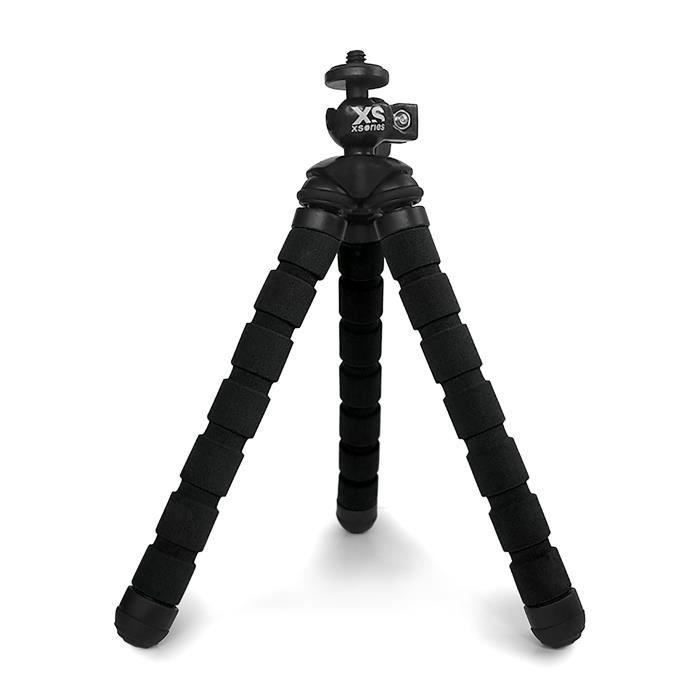 Xsories BENDY - Mini Trépied articulé flexible pour appareils photos compact et GoPro - BLACK