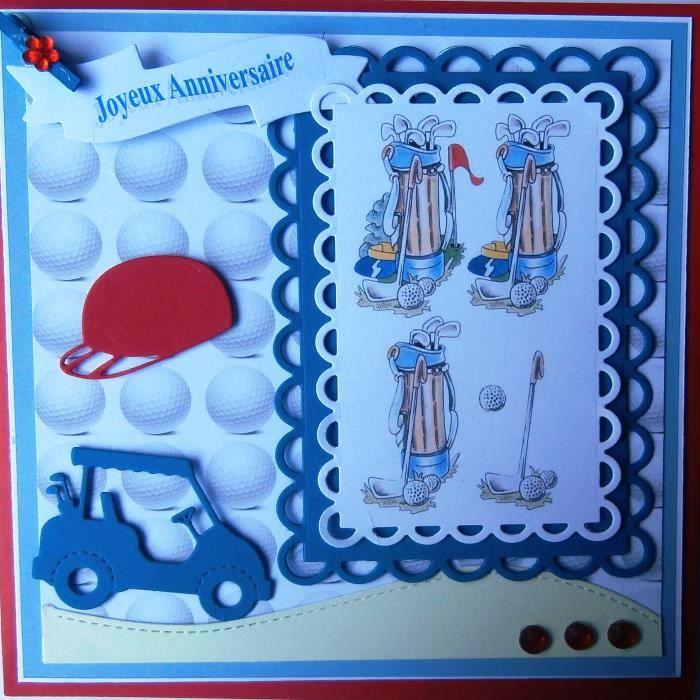 Carte Porte Billet Anniversaure Golf Achat Vente Carte Correspondance Carte Porte Billet Annivers Cdiscount