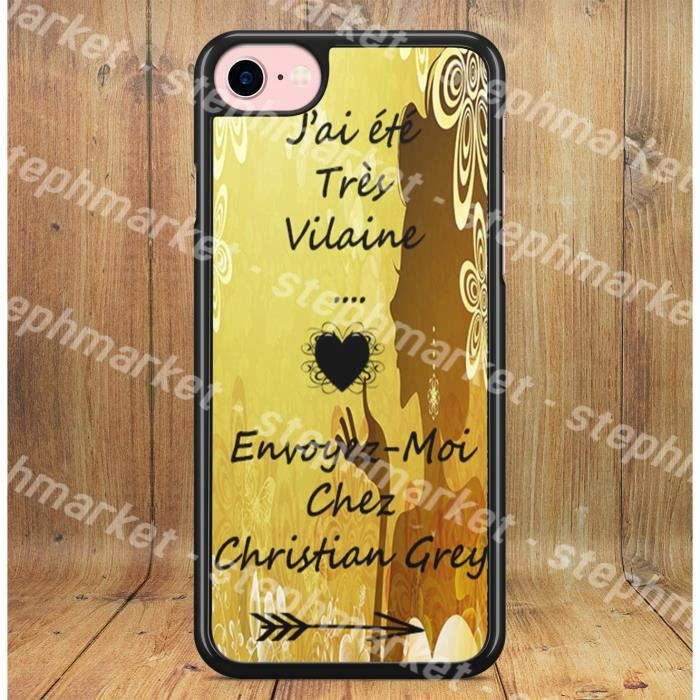 coque iphone 8 mr grey