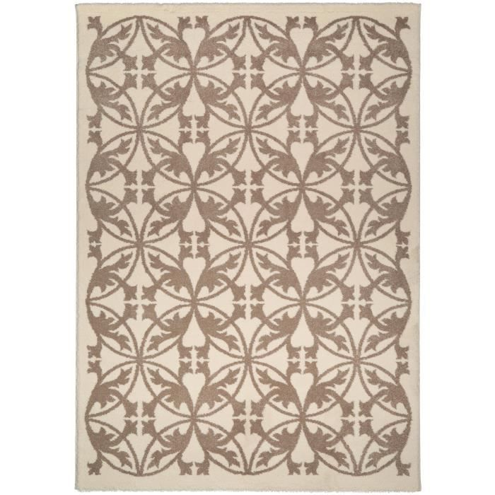 benuta tapis kaleido taupe 120x170 cm achat vente tapis cdiscount. Black Bedroom Furniture Sets. Home Design Ideas