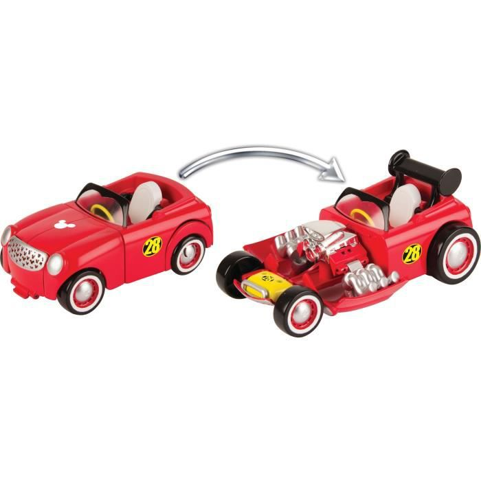 MICKEY ROADSTER RACERS Voitures Donald /& Pluto Pack Mickey /& Ses Amis Top D/épart