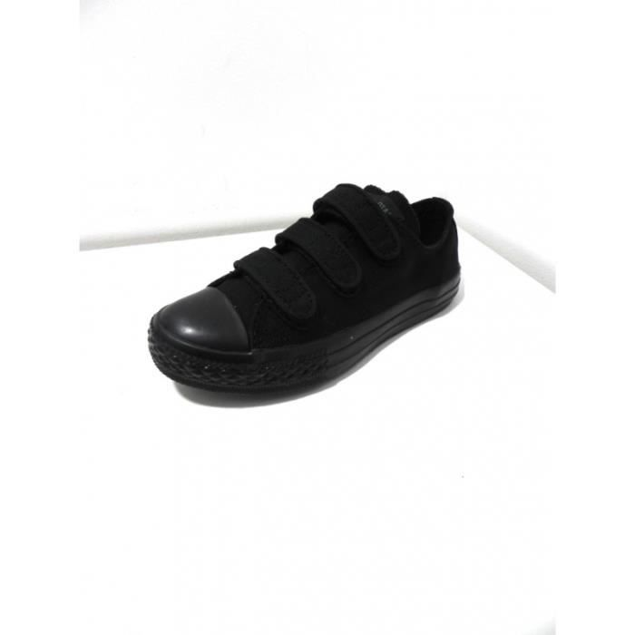 converse enfant scratch noir ox noir noir achat vente basket cdiscount. Black Bedroom Furniture Sets. Home Design Ideas