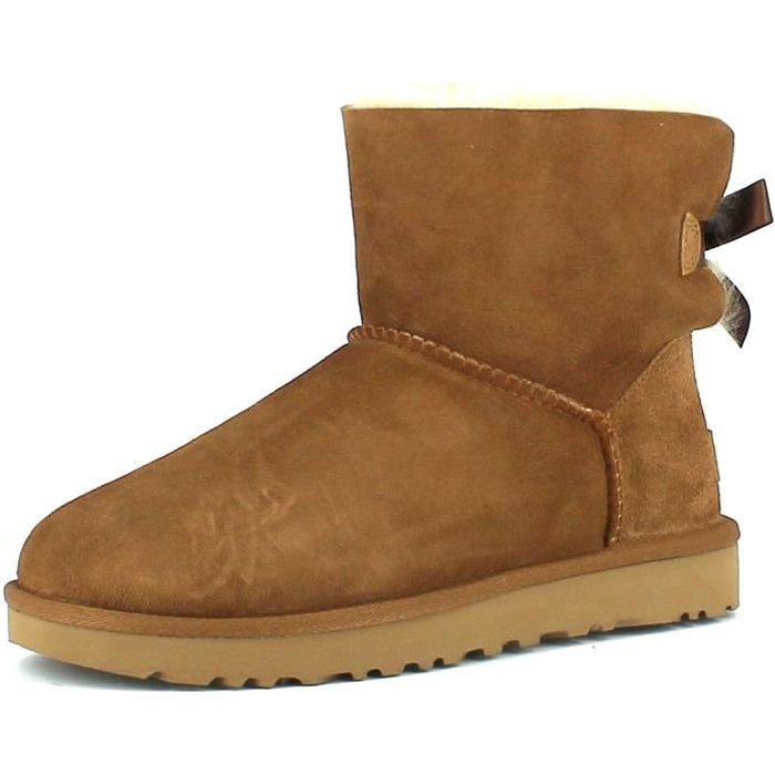 bottines ugg en cuir