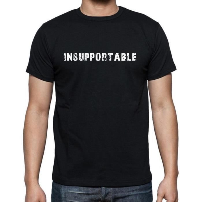 T-SHIRT insupportable tshirt, homme tshirt avec motif