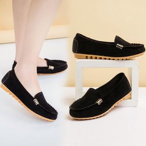 Femmes Flats Mesdames Comfy Ballet Chaussures Soft Slip-On Casual Bateau Chaussures @XMM71214532HOT rOlaxNi5wN