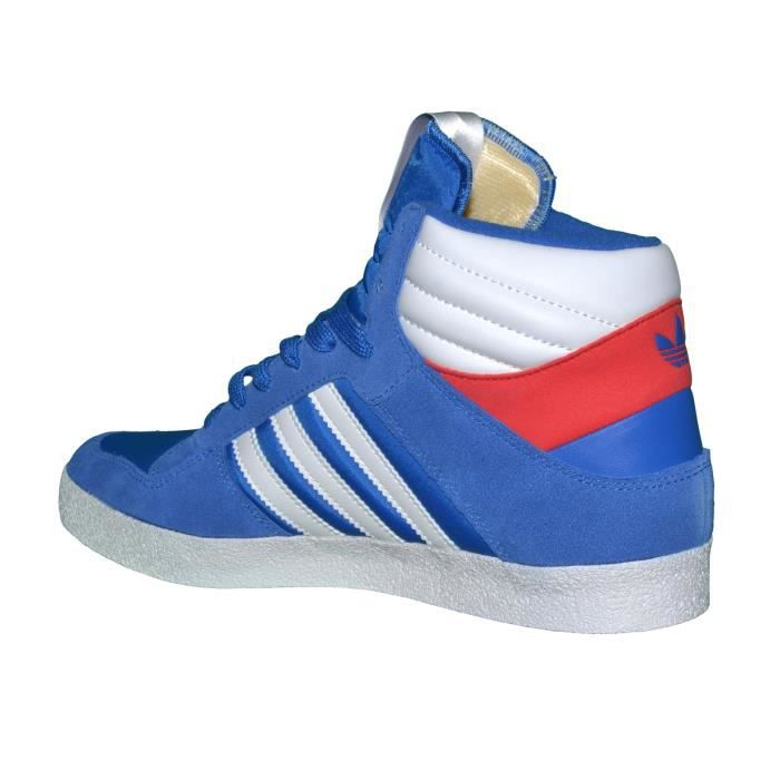 Adidas Originals - Baskets - Post Player Vulc Q21272 - Bleu Royal Blanc Rouge
