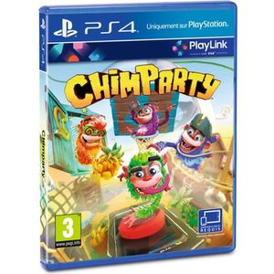 JEU PS4 Chimparty Jeu PS4 - Playlink
