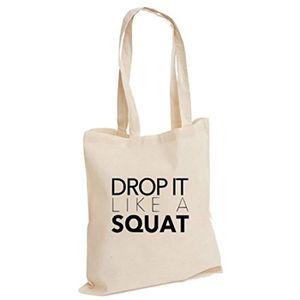 Imprimé Sac Fourre-tout All I Need Is Café et Crossfit Gym Noir Entraînement Fitness
