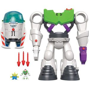 FIGURINE - PERSONNAGE Toy Story 4 Imaginext Buzz Lightyear Robot