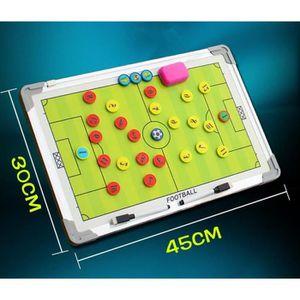 TABLEAU DE COACHING Pendaison plaque tactique de Football avec stylo m