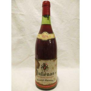 VIN ROUGE juliénas vincent jacoulot (etiquette tâchée) rouge