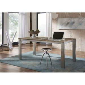 TABLE À MANGER SEULE Table à manger rectangulaire 180x90 cm, 6 à 8 Pers